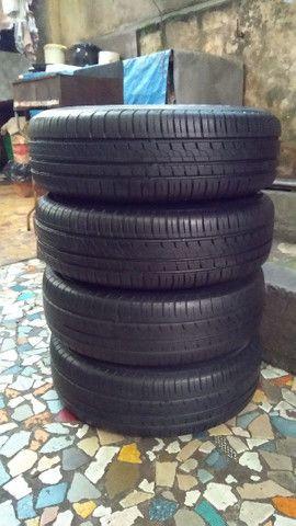 Jogo de rodas de ferro aro 14/4 furos originais Ford Ka Ford Fiesta e outros