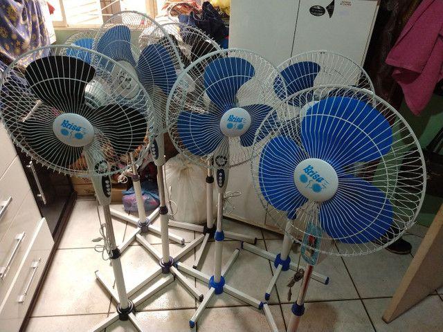 Ventilador BRISA, 127V, 3 VELOCIDADES  - Foto 3