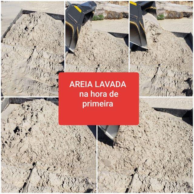 AREIA LAVADA BRITA BRITA BRITA PÓ DE PEDRA PÓ DE PEDRA AREIa