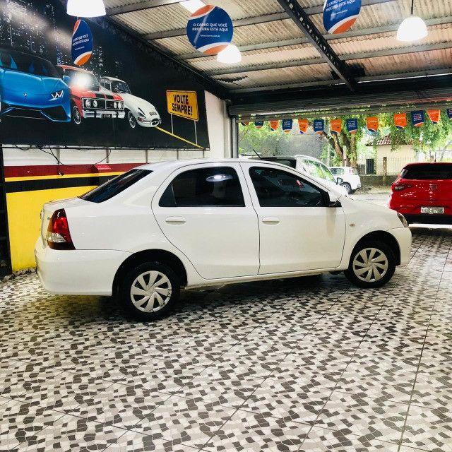 Etios sedan x 1.5 plus mec 19/20 carro impecavel - Foto 5