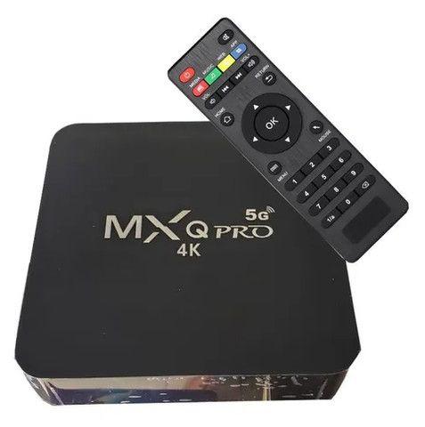 Tv Box Smart 4k/128gb/5g Android 11.1 transforme sua tv em smart tv lançamento - Foto 2