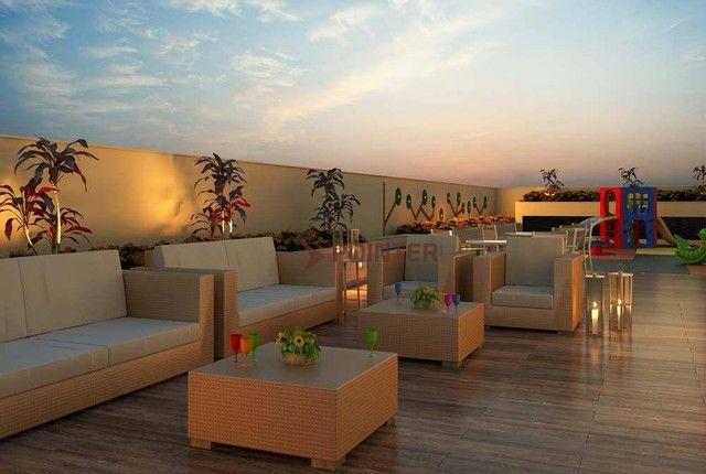 Apartamento com 2 dormitórios à venda, 61 m² por R$ 291.701,76 - Aeroviário - Goiânia/GO - Foto 3