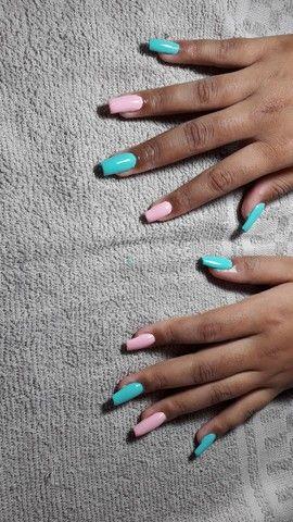 Unhas de alongamento e pedicure e manicure  - Foto 3