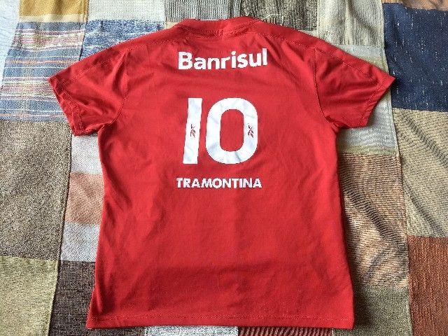 Camisa internacional centenário reebok - Foto 2