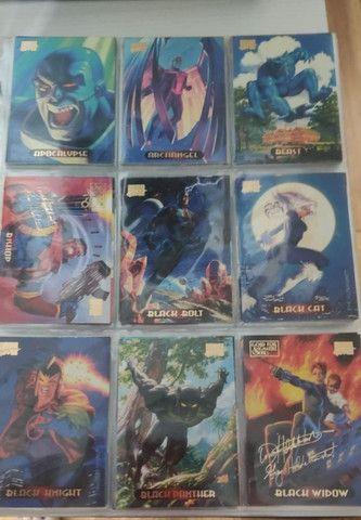 Cards Colecionaveis de Super Herois - Foto 2