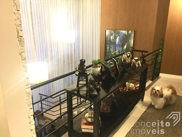 Casa de condomínio à venda com 4 dormitórios em Oficinas, Ponta grossa cod:393415.001 - Foto 8