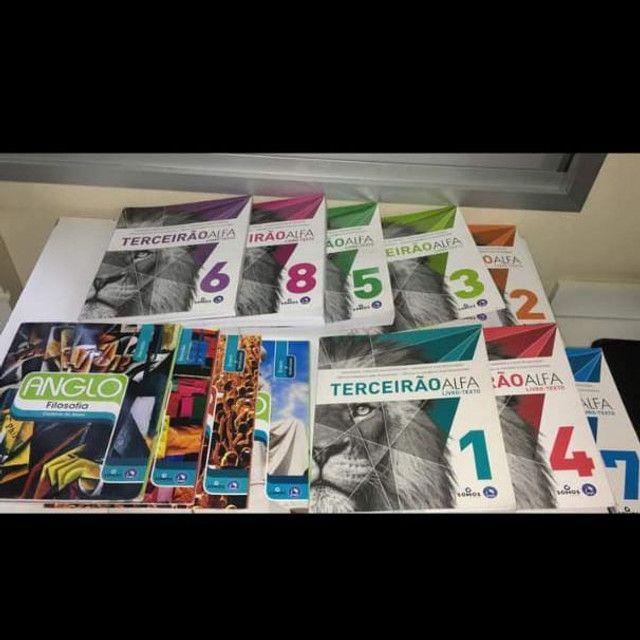 Livros revisão Enem e vestibulares, novos R$1500,00 - Foto 2