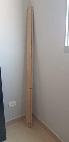 Vendo rack +painel 100% MDF com luz de Led - Foto 3