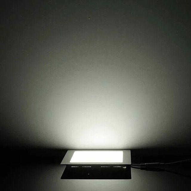 Plafon Painél LED 12w 3000k 17cm - Foto 2