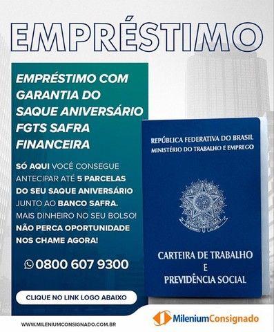 Antecipação do Saldo de Fgts - Banco Safra