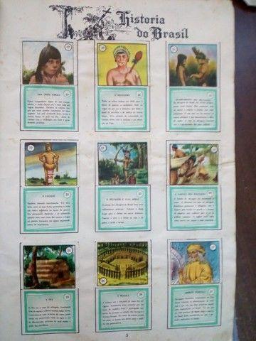 álbum de figurinhas História do Brasil anos 60 - edição 1966. Jabaquara - Foto 5