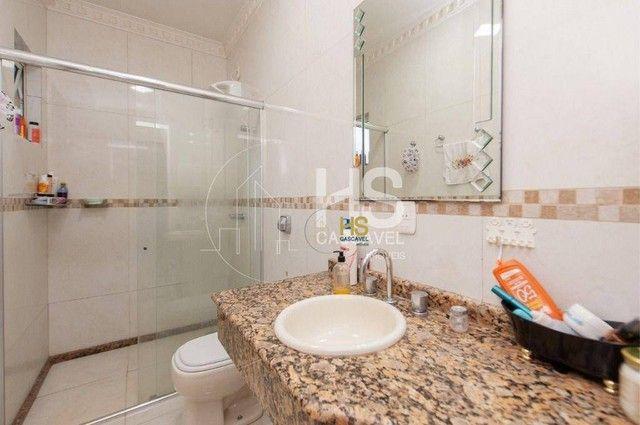 Casa de condomínio à venda com 3 dormitórios em Pacaembu, Cascavel cod:CA0387 - Foto 9