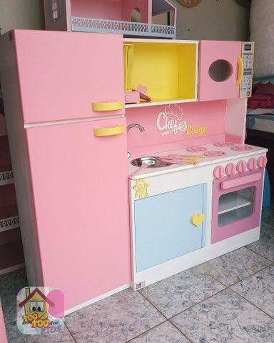 Cozinhas infantis 100% mdf - Foto 4