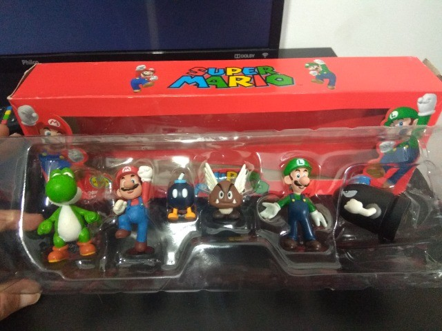 Coleção Bonecos Super Mario - 6 Peças - Foto 2