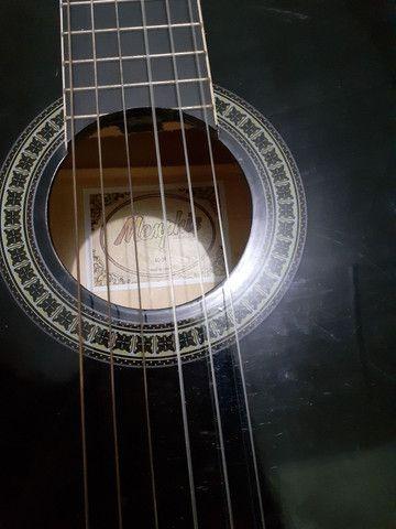 Violão Memphis novo + capa - Foto 5