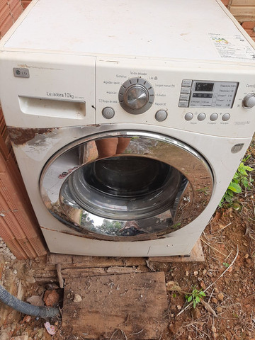 Maquina lavar LG 10 kg - Foto 3
