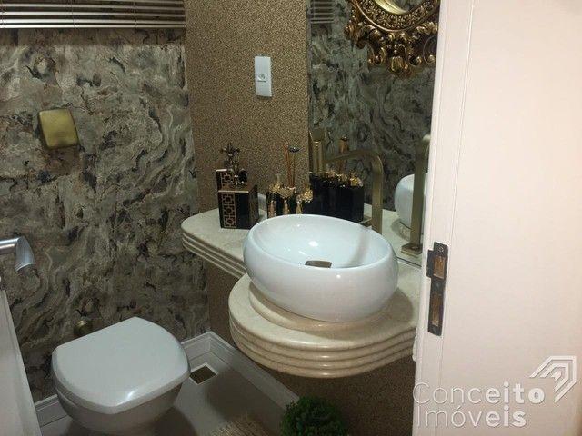 Casa de condomínio à venda com 4 dormitórios em Oficinas, Ponta grossa cod:393415.001 - Foto 20