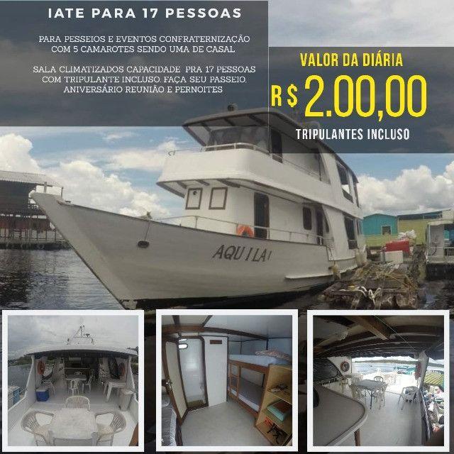 _ Alugo Lancha em Manaus, Traga sua Família - Foto 2