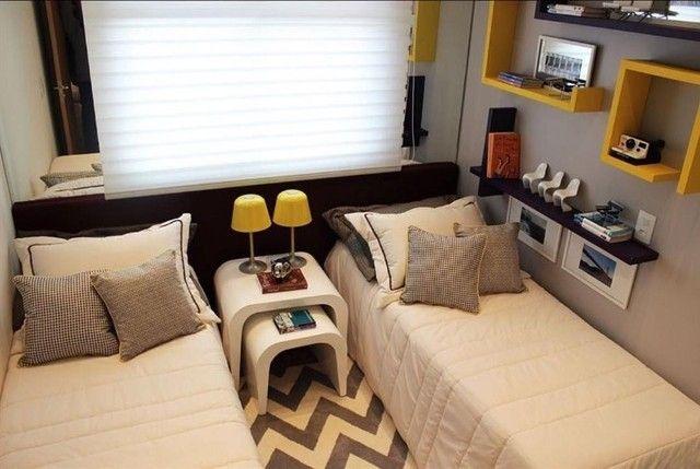 ..Apartamentos 2 quartos com varanda R$ 400,00 entrada em Niterói. - Foto 5