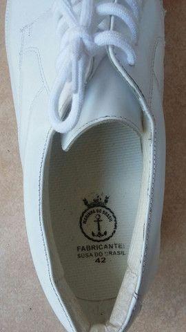 Sapato de couro  legítimo  p/ dentista ou médico.  - Foto 2