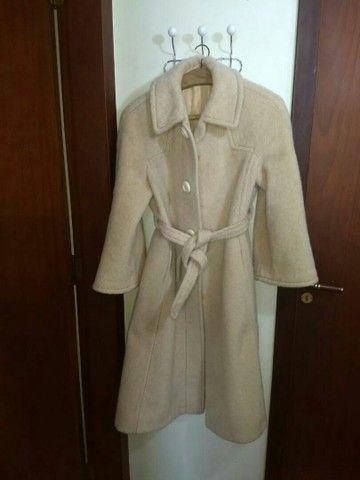 casaco sobretudo la de mohair - Foto 3