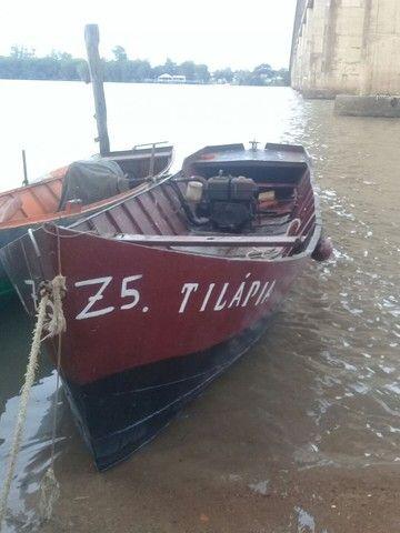 Barco de ferro motor a diesel  - Foto 4