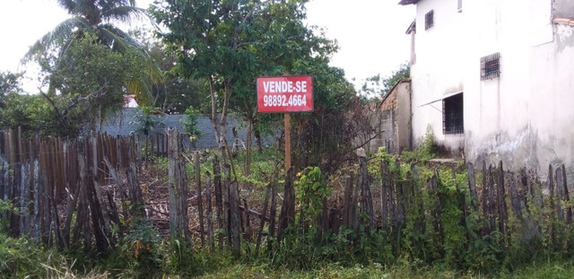 Vende-se Terreno na Cidade de São Vicente Férrer, na Rua São Vicente