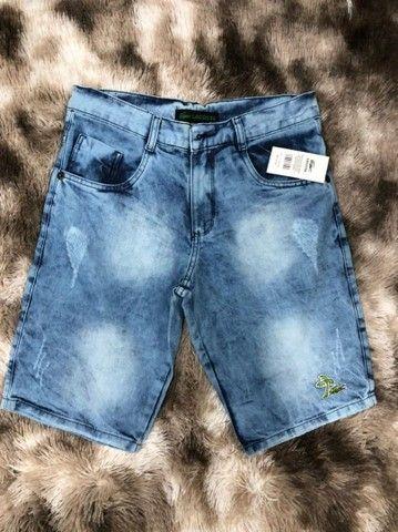 Atacadista de bermuda jeans - Foto 2