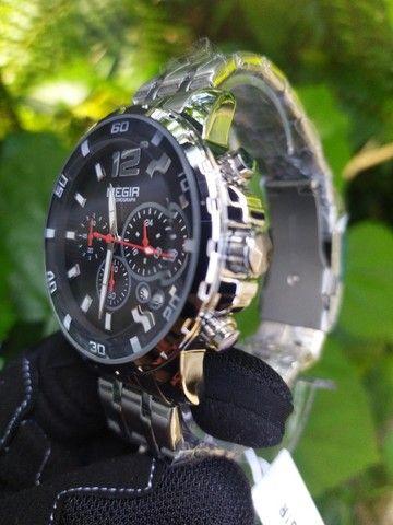 Relógio Megir Luxo Original entrega grátis - Foto 4