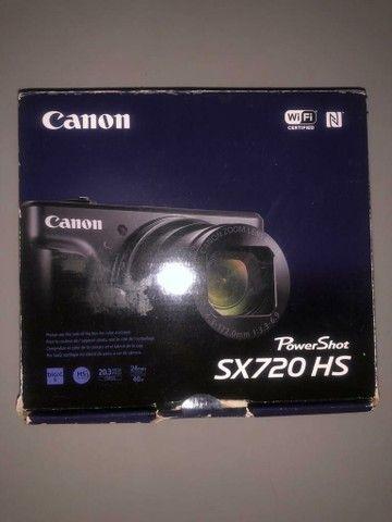 Câmera Semi Profissional Canon SX720 HS