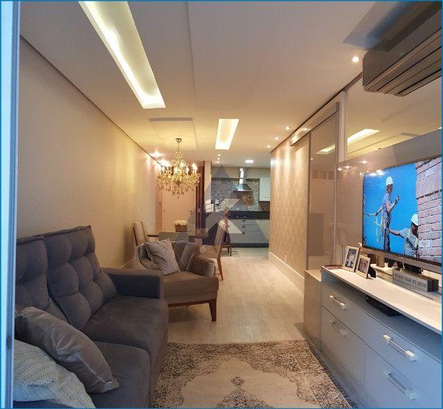 Apartamento Mobiliado, lindo, 2 dormitórios, sacada com churrasqueira, Sapucaia - Foto 2