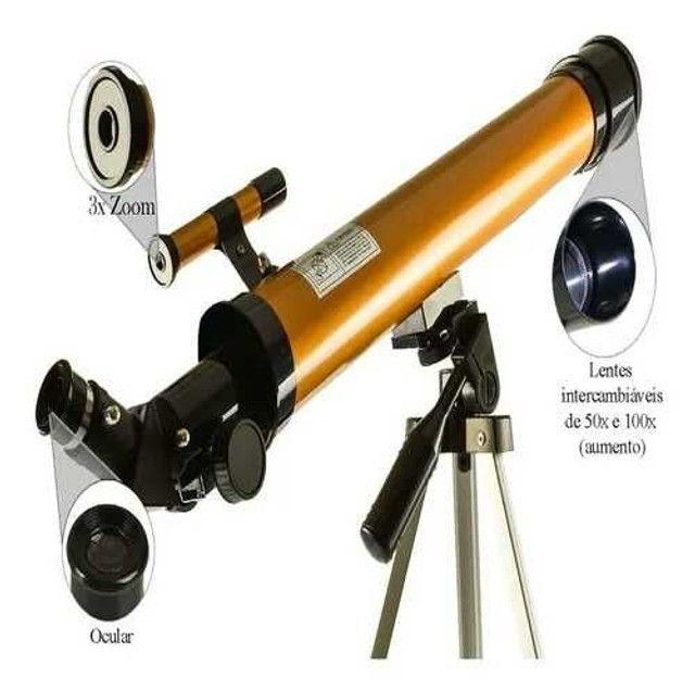 Telescópio refrator Lorben (Tem conversa)