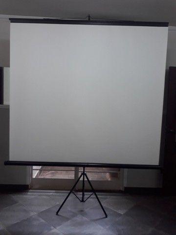 Telão de projeção de imagem 110pol - Foto 2