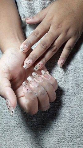 Unhas alongamento, pedicure e manicure  - Foto 2