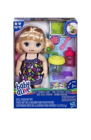 Baby Alive Papinha Divertida Original