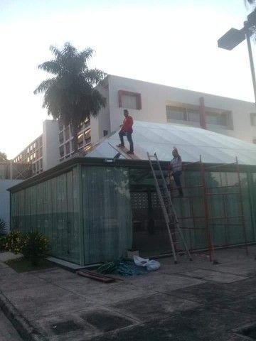 Portas ,janelas ,sacadas ,Guarda corpo ,em vidro temperado - Foto 5