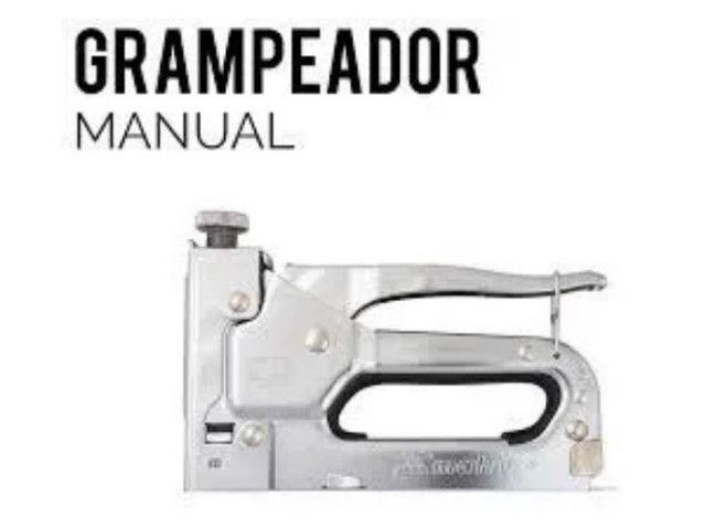 Grampeador Manual. Tapeçaria e etc. ( Novo )