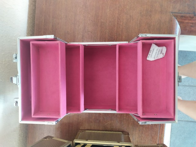 Mini maleta de maquiagem Avon - Foto 5