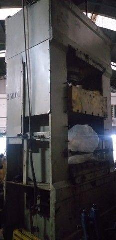 Prensa Hidráulica, Capacidade 250 Ton Mesa : 1200mm X 1200mm - Foto 2
