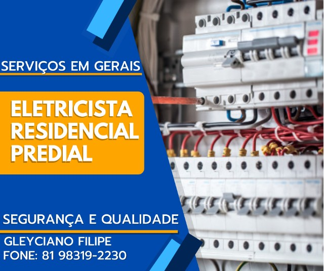 Serviço de Eletricista Residencial e Predial