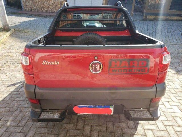 Fiat Strada Cabine Dupla, 3 portas, pouco rodada - Foto 4