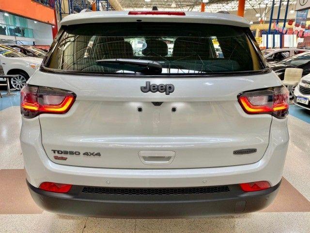 Jeep Nova Compass Longitude T350 4x4 a Diesel A Pronta entrega!!! Santo Andre São Paulo - Foto 4