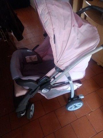 Carrinho de bebê em bom estado - Foto 4