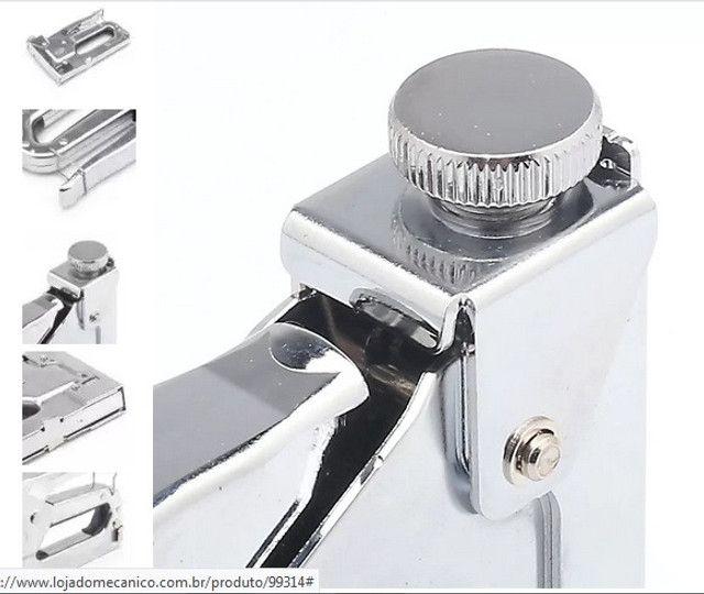 Grampeador Manual. Tapeçaria e etc. ( Novo ) - Foto 3