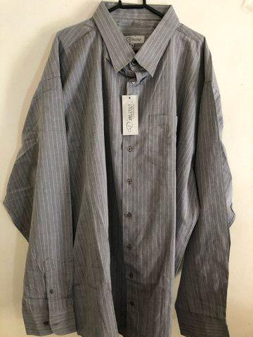 Camisas masculinas plus size NOVA - Foto 2