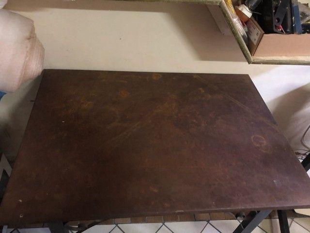 Mesa bistrô de ferro maciço - Foto 2