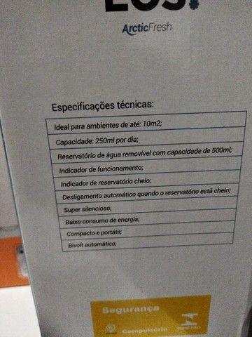 Desumidificador de ar antimofo + aquecedor elétrico - Foto 2