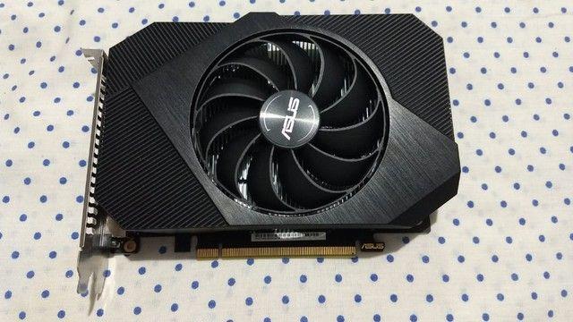 GTX 1650 Asus Phoenix semi nova - 10 horas de jogo no máximo - preço final - Foto 2