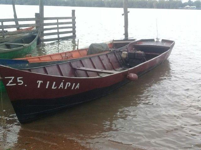 Barco de ferro motor a diesel  - Foto 5