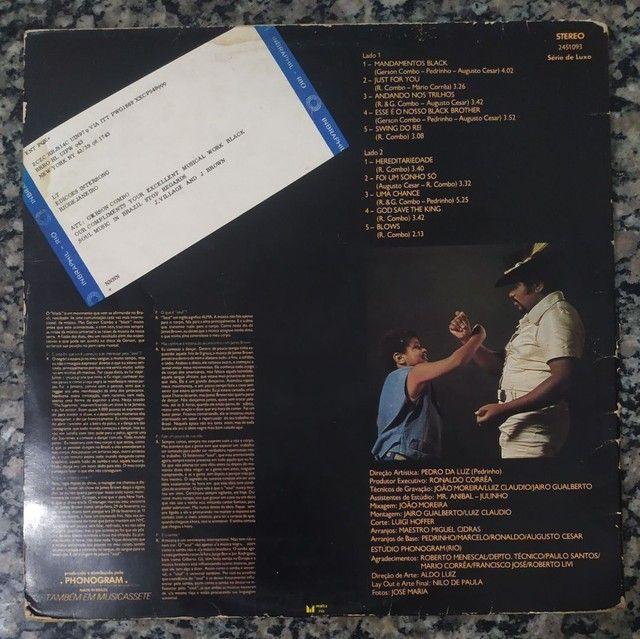 Vendo disco LP GERSON KING COMBO RARIDADE - Foto 2